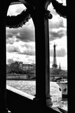 The Eiffel Tower Windows Bridge - Paris - France Photographic Print by Philippe Hugonnard