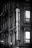 Advertising - Liquors - Harlem - Manhattan - New York - United States Photographic Print by Philippe Hugonnard