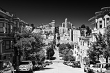 Hyde Street - Downtown - San Francisco - Californie - United States Photographic Print by Philippe Hugonnard