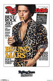 Bruno Mars Rolling Stone Cover Music Poster Print