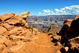 View Trail Pour Cedar Ridge Dans Le Grand Canyon En Arizona Photographic Print by Philippe Hugonnard
