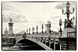 Alexander III Bridge view - Paris - France Photographic Print by Philippe Hugonnard