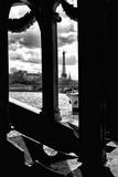 The Eiffel Tower Windows Bridge - Paris - France Photographic Print by Philippe Hugonnard