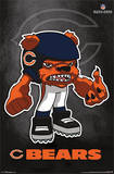 Chicago Bears - Rusher Football Poster Posters