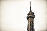 Top of the Eiffel Tower - Paris - France Photographic Print by Philippe Hugonnard