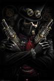 Spiral - Steampunk Bandit Fantasy Poster Prints