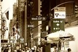 Lifestyle VIew - West 33Rd Street -  Manhattan - NYC Photographie par Philippe Hugonnard