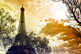 The Eiffel Tower - Paris - France Photographic Print by Philippe Hugonnard
