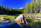 Lakes - Yosemite National Park - Californie - United States Photographic Print by Philippe Hugonnard