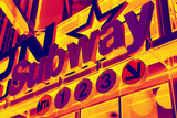 Subway Stations - Pop Art - New York City - United States Photographic Print by Philippe Hugonnard