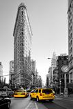 Flatiron Building - Taxi Cabs Yellow - Manhattan - New York City - United States Reprodukcja zdjęcia autor Philippe Hugonnard