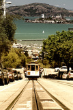 Cable Cars De Downtown De San Francisco VIII Photographic Print by Philippe Hugonnard