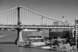 Urban Landscape - Manhattan - Bridge - New York City - United States Photographic Print by Philippe Hugonnard