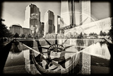 World Trade Center Memorial Fotografiskt tryck av Philippe Hugonnard