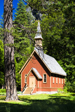Chapel - 1879 - Yosemite National Park - Californie - United States Photographic Print by Philippe Hugonnard