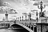 Alexander III Bridge view - Paris - France Photographic Print by Philippe Hugonnard