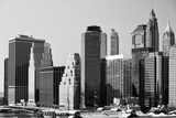 Landscapes - Buildings - Financial District - New York - United States Photographic Print by Philippe Hugonnard