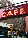 Advertising - Fanelli Cafe - Soho - Mahnattan - New York - United States Photographic Print by Philippe Hugonnard