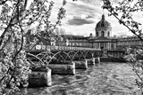 Pont des Arts - Institut de France - Paris - France Photographic Print by Philippe Hugonnard
