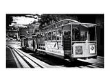Cable Cars De Downtown De San Francisco III Photographic Print by Philippe Hugonnard