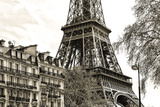 Paris - Eiffel Tower Photographic Print by Philippe Hugonnard