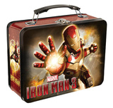 Iron Man 3 Large Tin Lunchbox Lunch Box