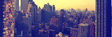Panoramic Landscapes - Sunset - Garment District - Manhattan - New York - United States Photographic Print by Philippe Hugonnard