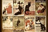 Philippe Hugonnard - Old French Postcards - Gallery - Montmartre - Paris - France Fotografická reprodukce