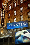 Philippe Hugonnard - The Phantom Of The Opera - Majestic - Times Square - New York City - United States - Fotografik Baskı
