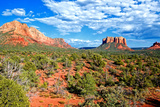 Landscape - Thunder Mountains - Sedona - Arizona - United States Photographic Print by Philippe Hugonnard