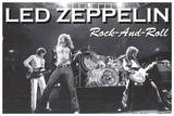 Led Zeppelin Rock and Roll Music Poster Posters