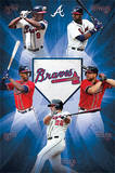 Atlanta Braves Team Baseball Poster Prints