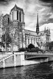 Notre Dame Cathedral - Paris - France Fotografisk tryk af Philippe Hugonnard