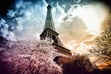 Eiffelturm, Paris, Frankreich, Europa III Fotodruck von Philippe Hugonnard