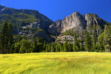 Waterfalls - Upper and Lower - Yosemite National Park - Californie - United States Photographic Print by Philippe Hugonnard