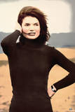 Jackie O Beach Photo Poster Prints