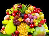Assortiment De Fruits XVII Reproduction photographique par Philippe Hugonnard