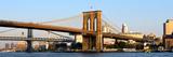 Brooklyn Bridge - Panoramic Lanscape - Sunset - Manhattan - New York City - United States Photographic Print by Philippe Hugonnard