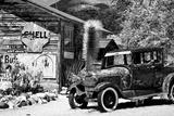 Gammel tankstation på Route 66, Arizona VII Fotografisk tryk af Philippe Hugonnard