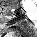 Eiffel Tower - Paris - France - Europe Lámina fotográfica por Philippe Hugonnard