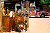 Van - Route 66 - Gas Station - Arizona - United States Photographic Print by Philippe Hugonnard