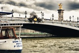 Don Juan - Alexander III Bridge - Paris - France Photographic Print by Philippe Hugonnard