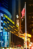 Urban Landscape - Nasdaq marketsite - Times Square - Manhattan - New York City - United States Photographic Print by Philippe Hugonnard