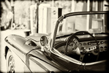 Cars - Chevrolet - Route 66 - Gas Station - Arizona - United States Photographic Print by Philippe Hugonnard