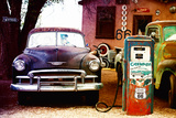 Philippe Hugonnard - Route 66 - Gas Station - Arizona - United States - Fotografik Baskı
