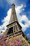 Torre Eiffel, Parigi, Francia Stampa fotografica di Philippe Hugonnard