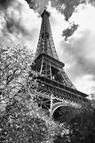 Eiffel Tower - Paris - France - Europe Fotografisk tryk af Philippe Hugonnard