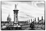 Alexander III Bridge and The Invalides - Paris - France Photographic Print by Philippe Hugonnard