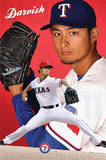 Yu Darvish Texas Rangers Baseball Poster Prints