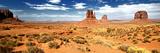 Veduta panoramica della Monument Valley, confine tra Utah e Arizona IV Stampa fotografica di Philippe Hugonnard